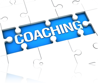 The word Coaching as a puzzle