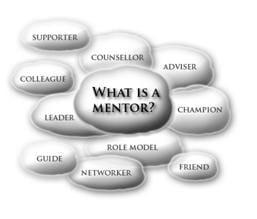 Definition of a mentor: supporter, leader, adviser, friend, role model