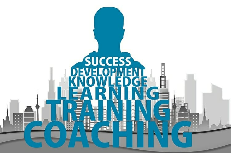 Coaching, training, learning, knowledge, development, success